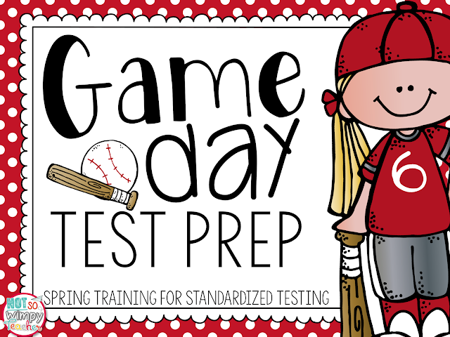 test prep tips cover image of a g irl in red baseball jersey and hat