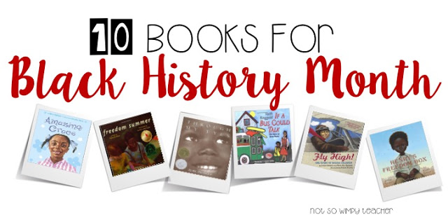 Books that are perfect for February which is Black History Month.