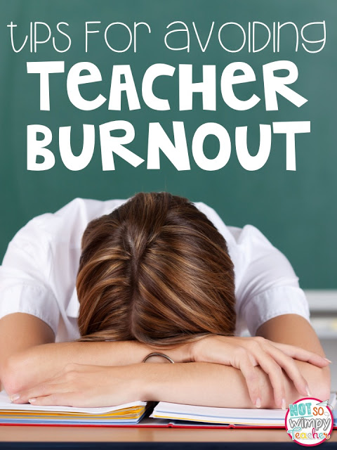 Are you feeling tired and stressed? Check out these tips for avoiding teacher burnout!