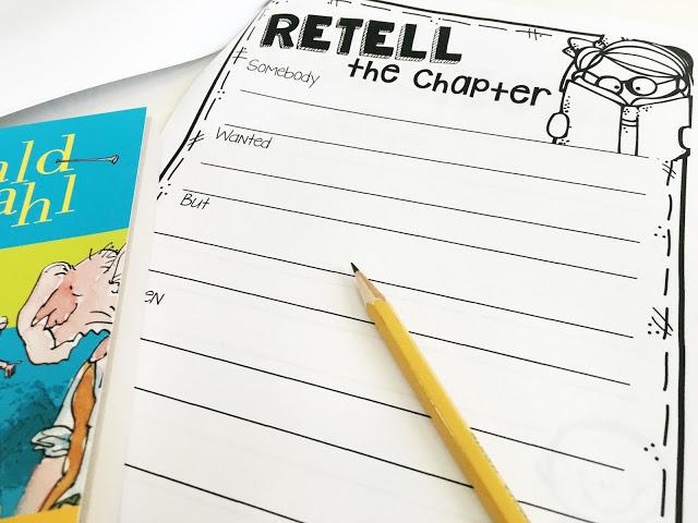 Rertell the chapter sheet from book clubs