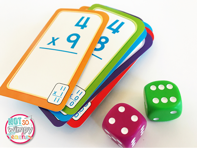 These games are perfect for centers when you are teaching multiplication!