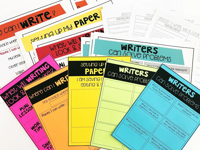 Another FREE ELA resource is the email writing course with handouts printed on brightly colored paper