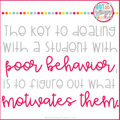 Do you have a student who just doesn't seem to care about your behavior management system and rewards? Do you know what motivates them?