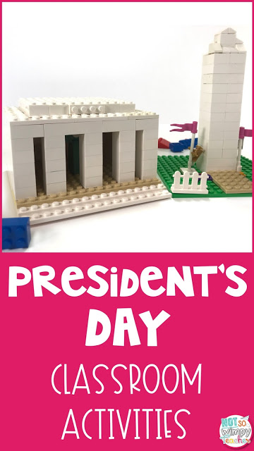 Fun activities where students can learn more about our country's presidents!