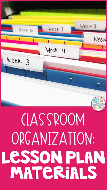 A time saving tip for getting your classroom resources prepped and organized!