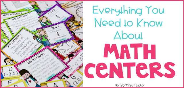 Everything you need to know about math centers