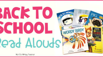 Back to school book read alouds