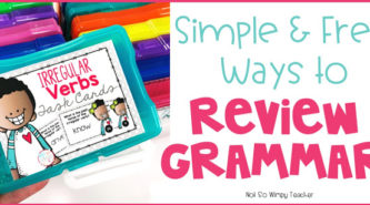 Ways to review grammar skills