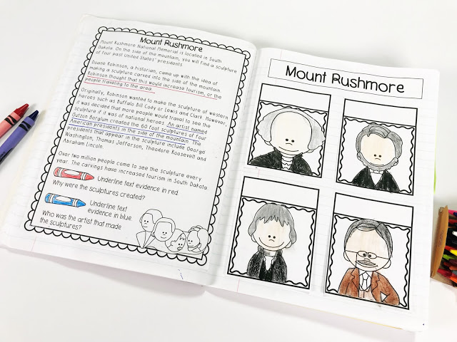 Presidents Day Interactive Notebook