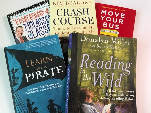 Book clubs are a fun way to build teacher morale