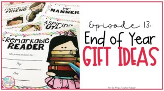 End of year student gift ideas