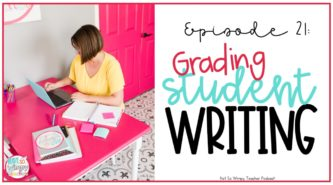 Grading student writing