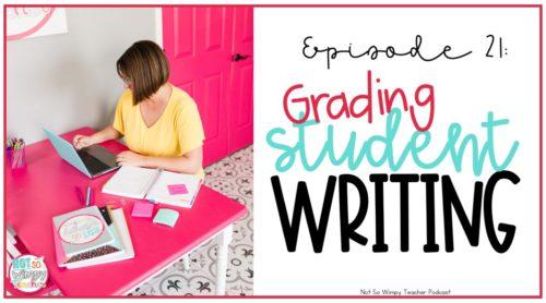 Grading student writing