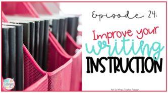 Improving your writing workshop