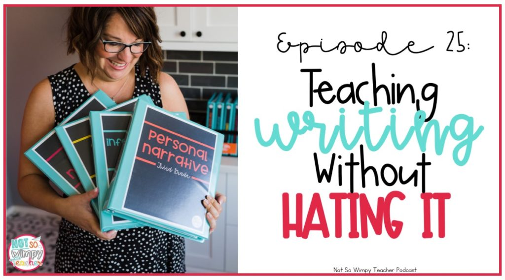 w to teach writing without hating it
