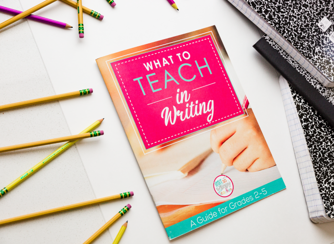 What to teach in writing guide