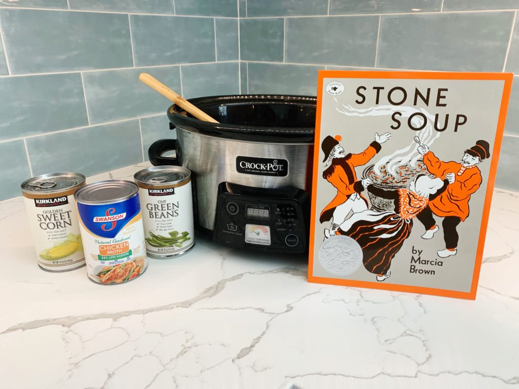 Thanksgiving classroom activity using Stone Soup