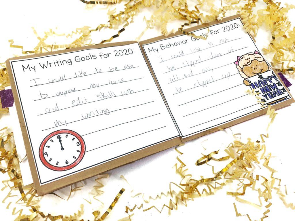 New Years Classroom Activities
