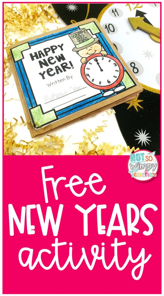 Free New Year Activity for the Classroom