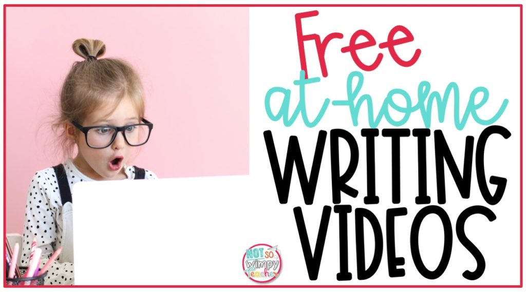 Free at-home video writing lessons