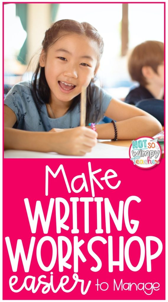 Make Writing Workshop Easier