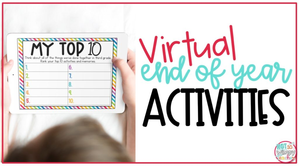 Virtual End of Year Activities