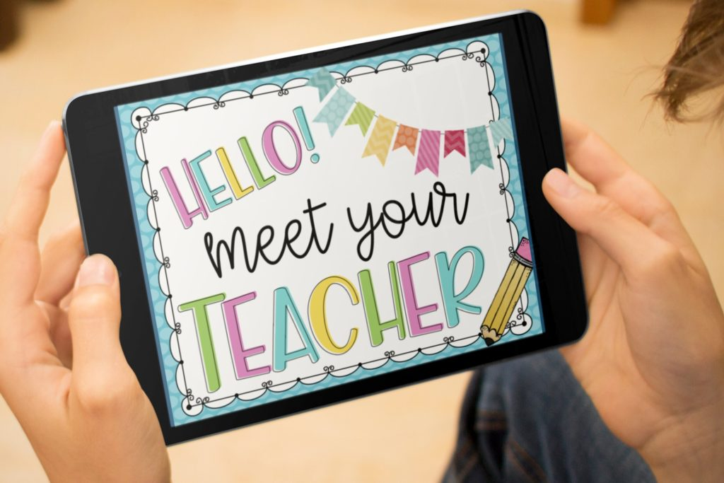Meet the Teacher Slides