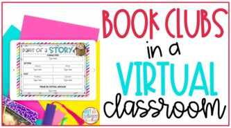 book clubs in a virtual classroom