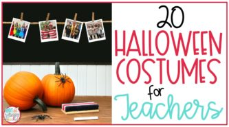 teachers wearing halloween costumes