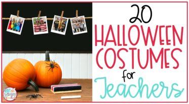 teachers wearing halloween costumes