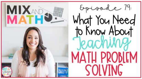 teaching math problem solving