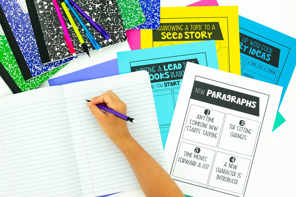 personal narrative writing units