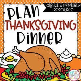 digital thanksgiving math activity