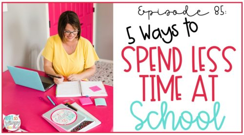 5 ways to spend less time at school