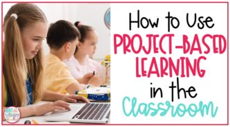 Students working at table on cover image for How to Use PBL in the Classroom