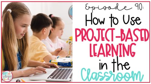 kids working at computers on cover image of how to use project-based learning in the classroom