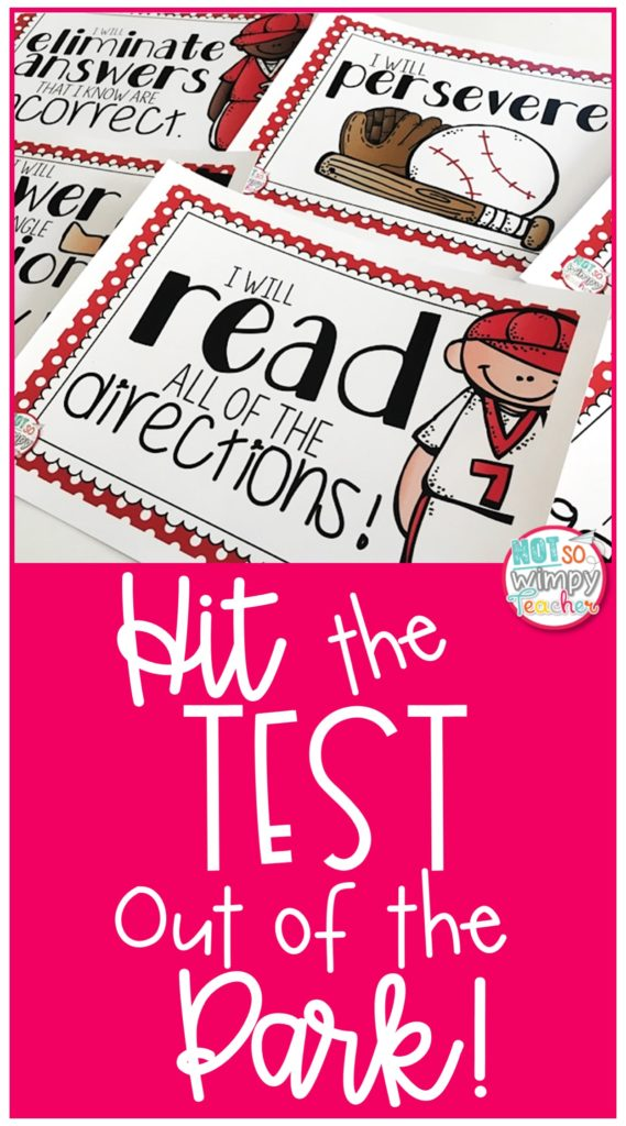 Pin image for test prep tips featuring printable pages of game day play book
