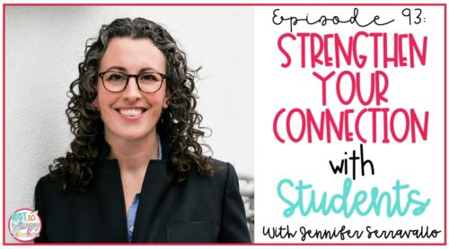 strengthen your connection with students