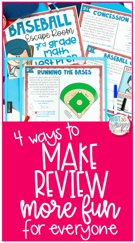 Pin Image for 4 ways to make review more fun for everyone