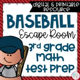 Math Test prep scape room