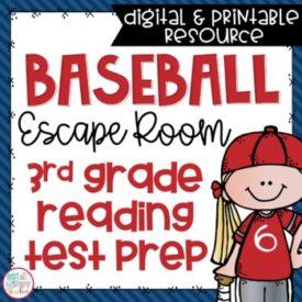 Reading test prep escape room