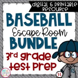 Test Prep Escape Room Bundle