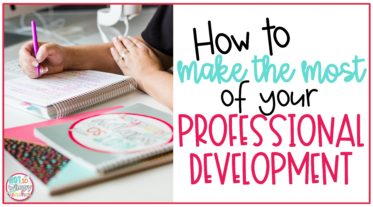 Cover image for How to Make the Most of Your Professional Development showing hands with flair pen writing in planner