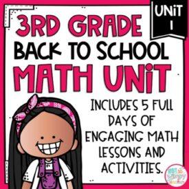 3rd grade math unit 1