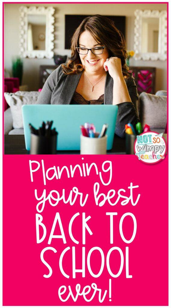 Planning your best back to school ever pin
