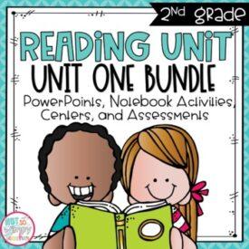 2nd Grade Reading Units Unit 1 Bundle
