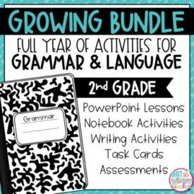 Grammar Activities Second Grade