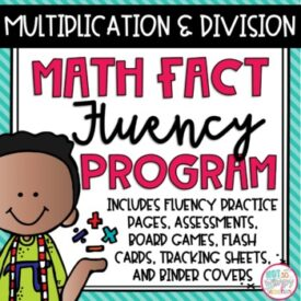 Fact Fluency Multiplication and Division