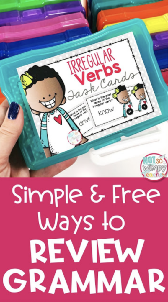 Simple and free grammar ways to review grammar