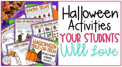 Halloween activities cover image